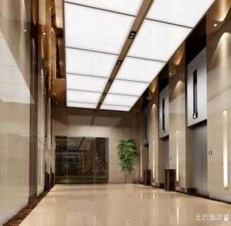 电梯间设计效果图图片