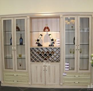 欧式家装酒柜设计图