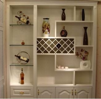 欧式家装酒柜设计图 图片