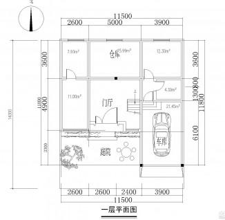 两层半农村自建房设计图(2/12)