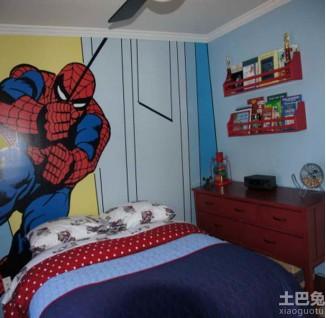 儿童房手绘墙图片大全