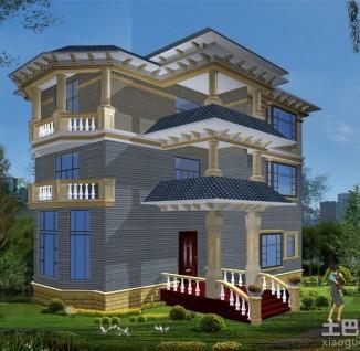 3d新农村别墅设计图