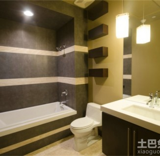 厕所 家居 设计 卫生间 卫生间装修 装修 326_318