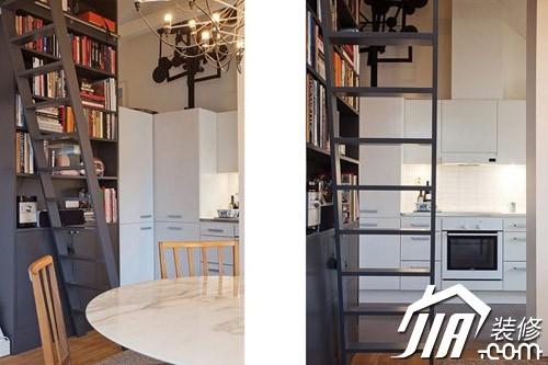 挑高小户型开放式设计 瑞典暖色公寓 (10/15)