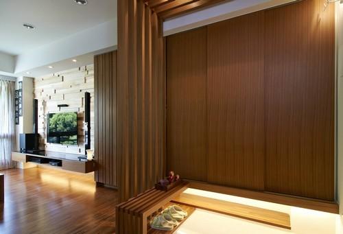 日式自然清新家 一家人的幸福生活装修效果图