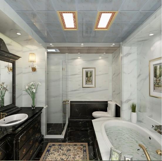 10款鸿牌集成吊顶 打造倾心唯美卫浴间装修效果图