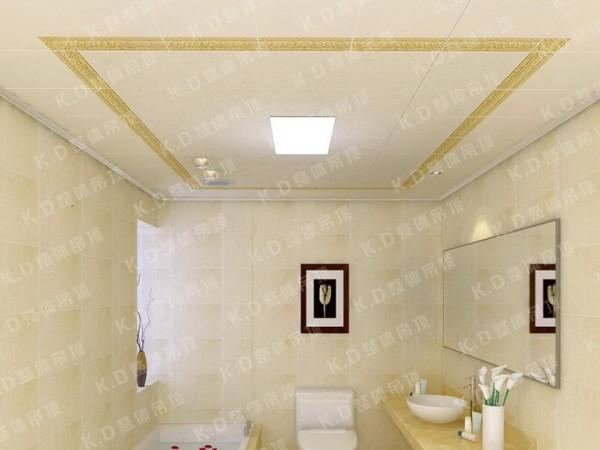 凯尔蒂尼集成吊顶 演绎多样卫浴生活装修效果图