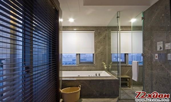 现代卫生间瓷砖效果图片大全 欧式风格卫生间装修效果图大全  我喜欢