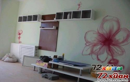 18款纯手绘电视背景墙装修图片装修效果图