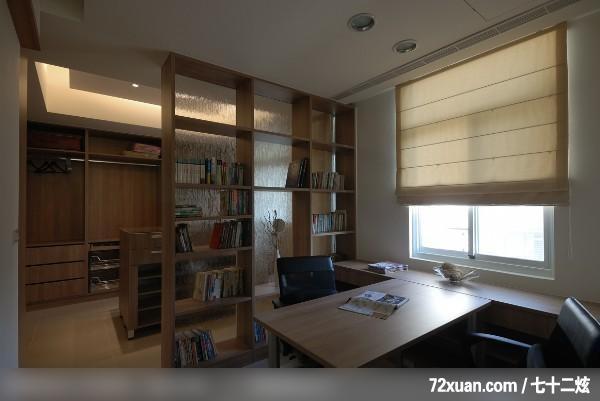 权释_31_台北市,艺堂室内设计,李燕堂,多功能室,观景窗,穿透设计,阅读