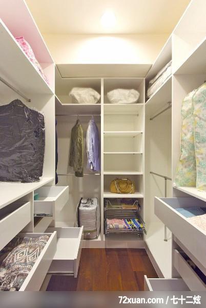 李月新,卧室,更衣室,造型衣橱,装修效果图 第5张 家居图库 九正
