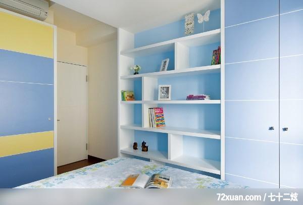 卧室,造型衣橱,收纳层板,冷气摆放设计, (12/23)图片