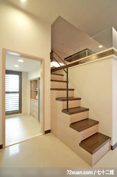 楼梯收纳柜手绘效果图