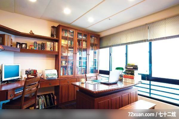 花板,阅读区,书架层板,装修效果图 第8张 家居图库 九正家居网
