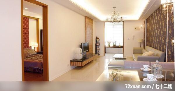 老屋改造,龍發,盧成峰,客廳,造型天花板,造型電視主墻,造型沙發背墻