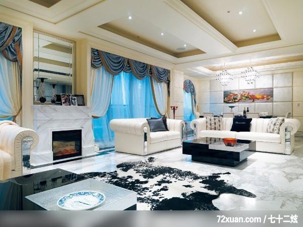 客厅,造型天花板