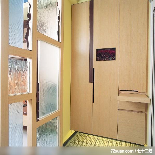 浪漫而温馨的设计,觐得空间设计,游淑慧,玄关,收纳鞋柜,造型地板,隔屏