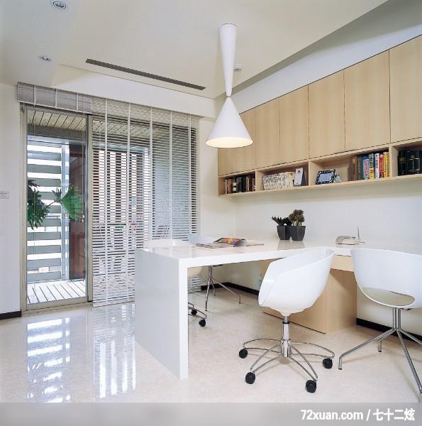 花板,收纳柜,书架层板,阅读区装修效果图 第2张 家居图库 九正家