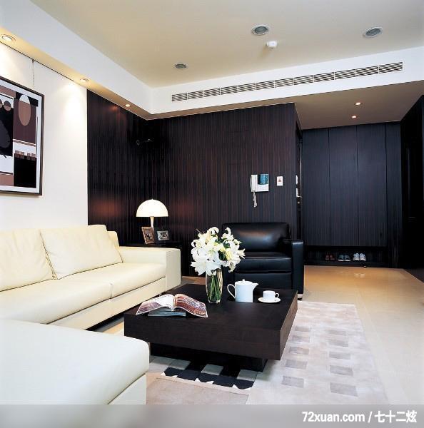 ,马豪,客厅,鞋柜,沙发背景墙,造型天花板,装修效果图 第4张