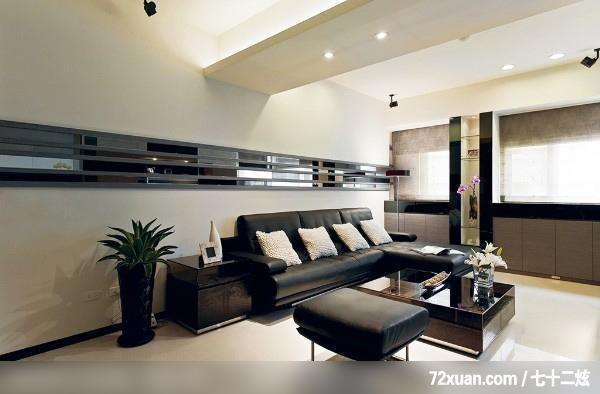 储藏室与流畅的生活动线,云邑室内设计,李中霖,造型,沙发客厅背墙和ui设计html图片