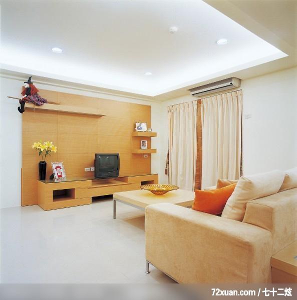 王思文 设计/瑞德_03_北县中和市,墨比雅设计团队,王思文,客厅,造型电视主墙,...