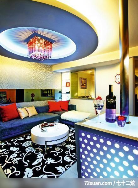 周建志 设计/大胆前卫设计,春雨时尚空间设计,周建志,客厅,造型天花板,造型灯光...