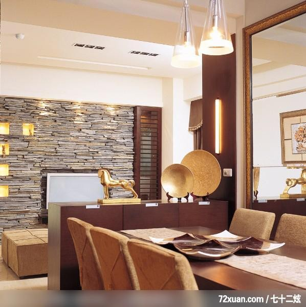 欣亚_01,龙发,林轶伟,客厅,电视背景墙,展示柜,造型天花板