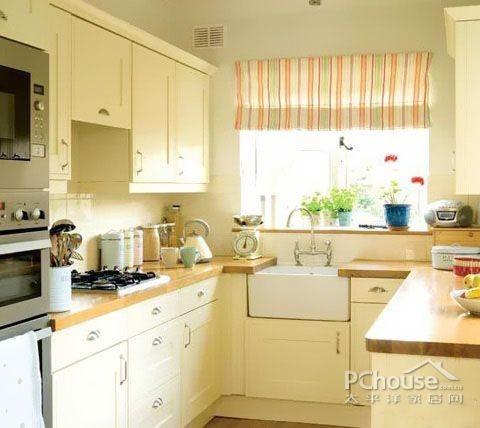 最新欧式开放式厨房装修效果图大全 乡村别墅厨房装修效果图