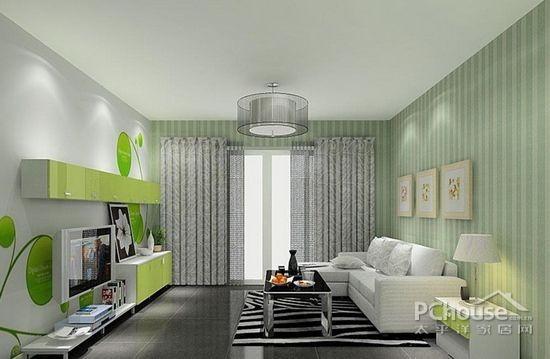 美式别墅吊顶的色彩搭配装修效果图