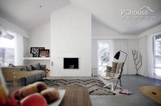 开放式个性单身公寓设计装修效果图