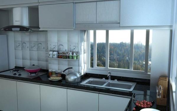 乡村别墅厨房装修效果图