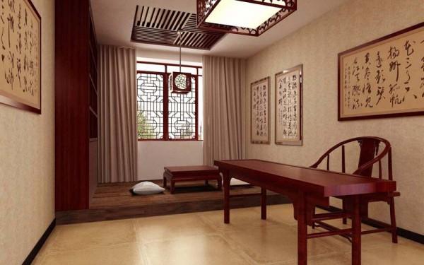 中式书房装修效果图十装修效果图图片