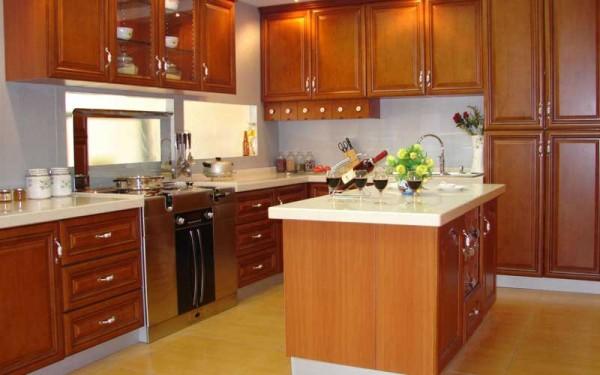 西式厨房装修效果图十二 (4/5)图片
