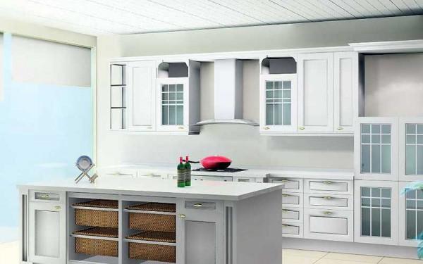 西式厨房装修效果图八 (1/5)图片