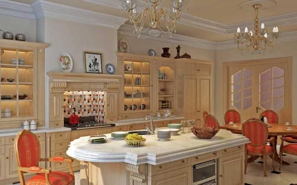 西式厨房装修效果图 (4/5)图片