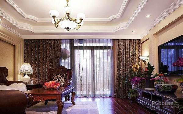 新中式风格新房设计装修效果图_第1张 - 家居图库图片
