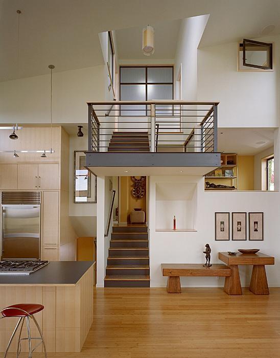 错层式房屋室内设计装修效果图