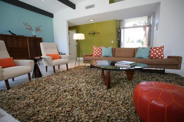 现代风格打造温馨农村别墅客厅装修效果图大全2012图