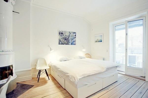 三室两厅两卫卧室装修效果图大全2012图片 (6/6)