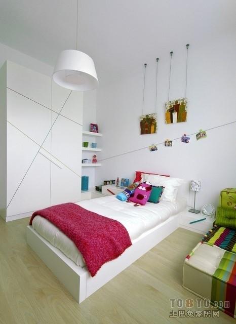 10平米简约吊顶儿童房装修设计效果图 (2/5)