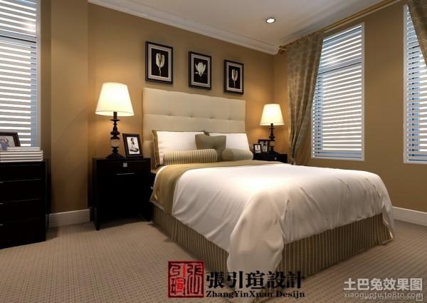 美式风格卧室背景墙装修效果图大全2013图片装修效果