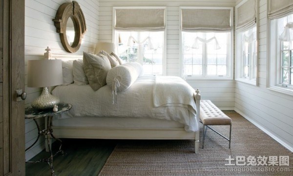 质朴简约的北欧风格装修效果图卧室图片 (2/2)