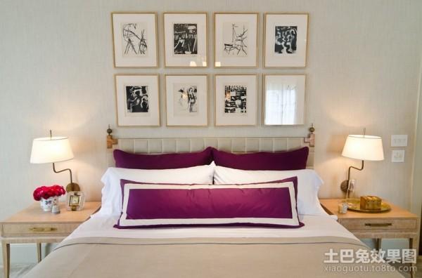 很有后现代特点的美式风格卧室装修效果图 (3/4)图片
