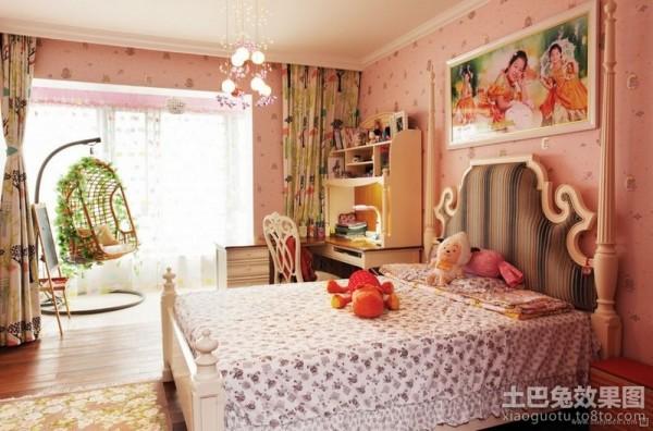 中式风格女孩房装修效果图欣赏 现代