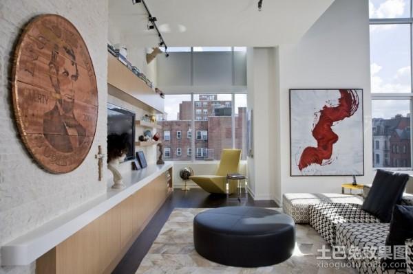 简约元素的北欧风格装修客厅图片 (3/3)
