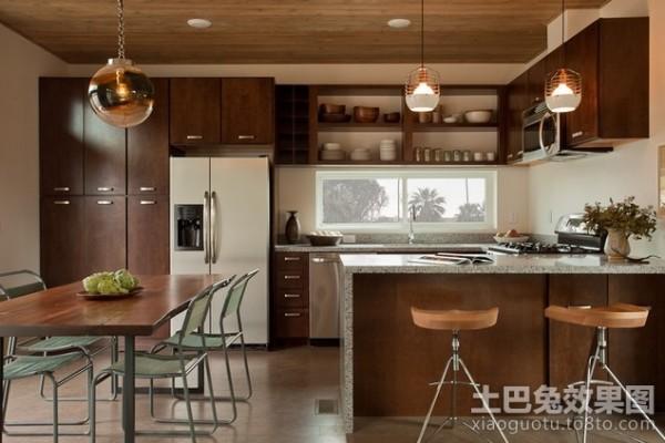 90平米房屋厨房装修效果图装修效果图 第4张 家居图库 九正家居网