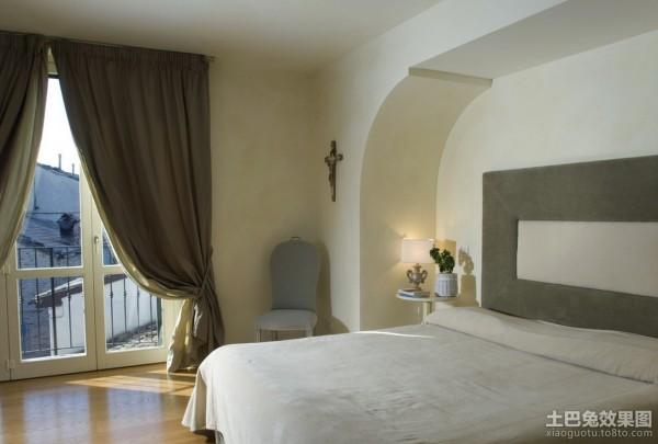 背景墙 房间 家居 酒店 设计 卧室 卧室装修 现代 装修 600_405图片