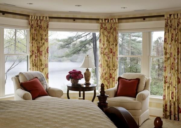欧式卧室飘窗装修效果图 (2/2)图片