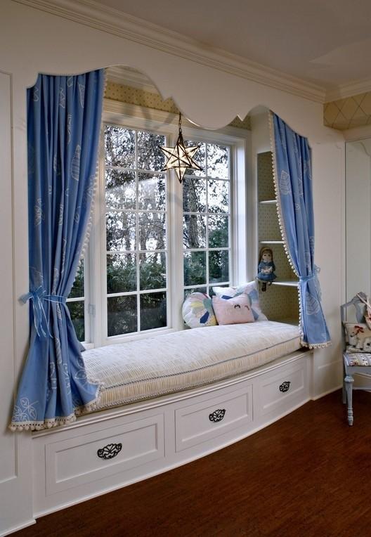 欧式卧室飘窗装修效果图装修效果图