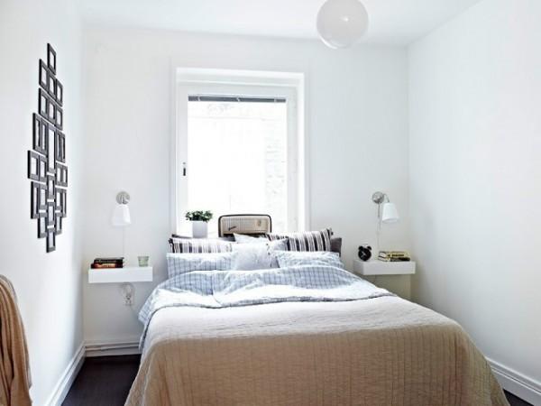 小户型卧室装修效果图 50平米小户型卧室装修 (5/6)